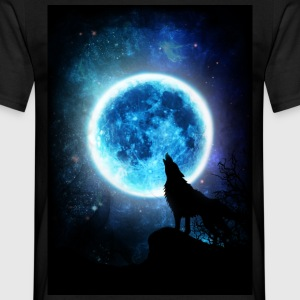 Wolfs Howling Instinct - Men's T-Shirt