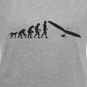 Glider evolution T-Shirts - Women's T-shirt with rolled up sleeves