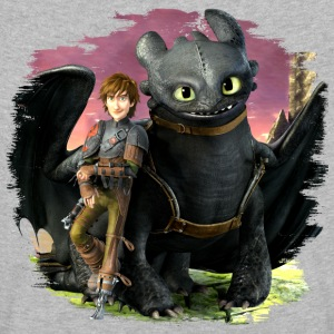 Dreamworks Dragons Hicks angelehnt an Ohnezahn - Kinder Premium Langarmshirt