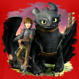 Dreamworks Dragons Hicks angelehnt an Ohnezahn - Kinder Premium T-Shirt