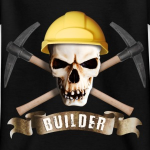 builder_pick_skull_a T-Shirts - Kinder T-Shirt