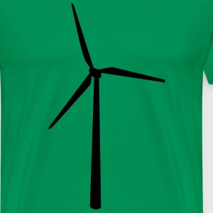 windmolen T-shirts - Mannen Premium T-shirt