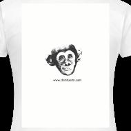 Motiv ~ Damen T-Shirt Schimpansenbaby Ian
