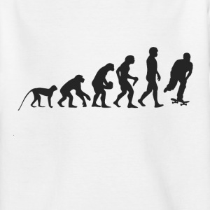 Skater Evolution Shirts - Kinderen T-shirt