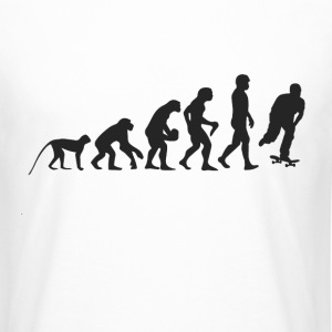 Skater Evolution T-Shirts - Men's Long Body Urban Tee