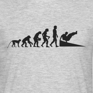 Parcour Evolution T-shirts - Mannen T-shirt