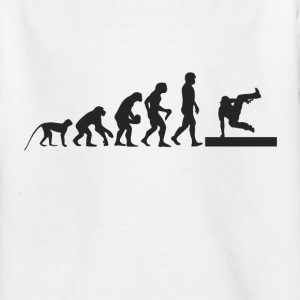 B-Boy Evolution Shirts - Kids' T-Shirt