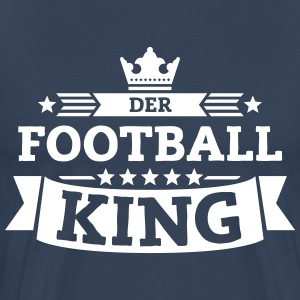 Der Football-King T-Shirts - Männer Premium T-Shirt