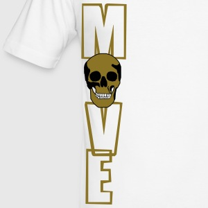 move (totenkopf) T-Shirts - Männer Slim Fit T-Shirt