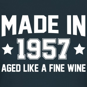 Made In 1957 Aged Like A Fine Wine T-Shirts - Women's T-Shirt
