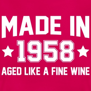 Made In 1958 Aged Like A Fine Wine T-Shirts - Women's T-Shirt