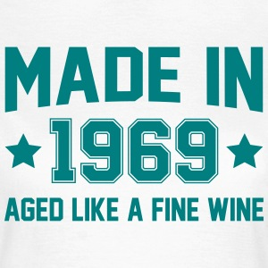 Made In 1969 Aged Like A Fine Wine T-Shirts - Women's T-Shirt