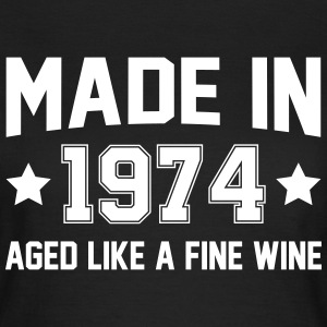 Made In 1974 Aged Like A Fine Wine T-Shirts - Women's T-Shirt