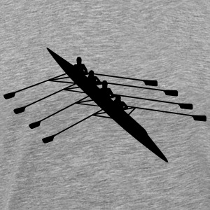 rowing T-Shirts - Men's Premium T-Shirt
