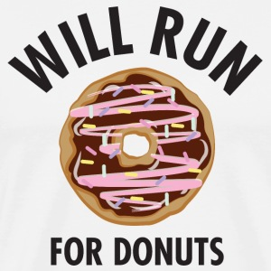 Will Run For Donuts T-Shirts - Männer Premium T-Shirt