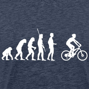 Evolution Mountainbiker Shirt - Männer Premium T-Shirt