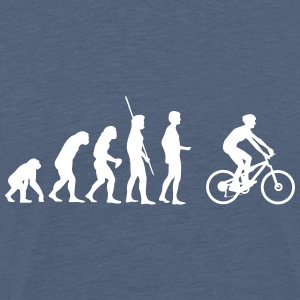 Evolution mountain bikers T-Shirts - Men's Premium T-Shirt