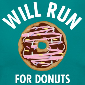Will Run For Donuts T-Shirts - Frauen T-Shirt