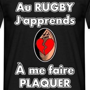 Au Rugby, j'apprends À me faire plaquer
