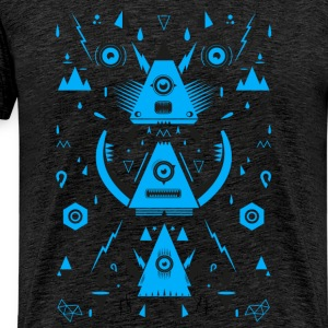 Abstract Triangle Transformation - Männer Premium T-Shirt