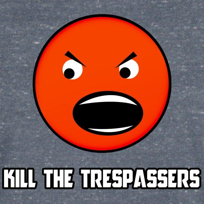 T-shirt V neck Kill The Trespassers