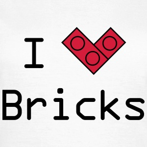 I love bricks T-Shirts - Frauen T-Shirt
