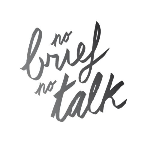 No brief no talk | T-shirts Design