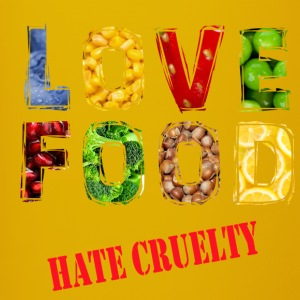 Love food hate cruelty - Full Colour Mug