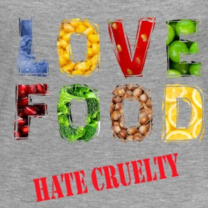 Love food hate cruelty - Women's Premium Longsleeve Shirt