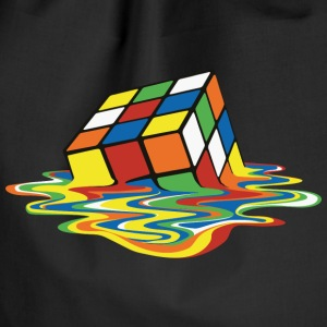 Rubik's Melting Cube - Drawstring Bag