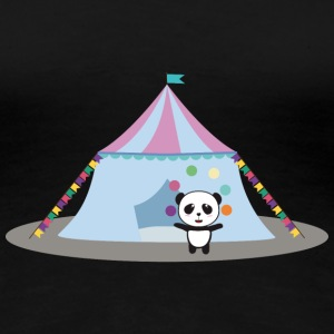 Panda in the circus juggling T-Shirts - Women's Premium T-Shirt