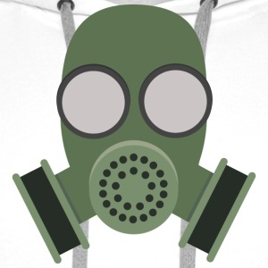 Army gas mask Hoodies & Sweatshirts - Men's Premium Hoodie