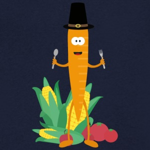 Thanksgiving-carrot with vegetables T-Shirts - Men's V-Neck T-Shirt