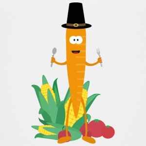 Thanksgiving-carrot with vegetables Shirts - Teenage Premium T-Shirt