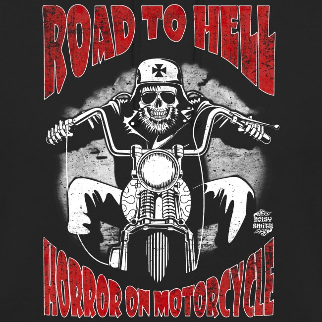 Road to Hell sudadera con capucha