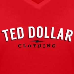 Ted Dollar Clothing Tee shirts - T-shirt col V Femme