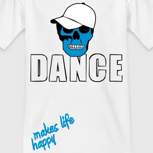 dance makes life happy (boy version) T-Shirts - Kinder T-Shirt