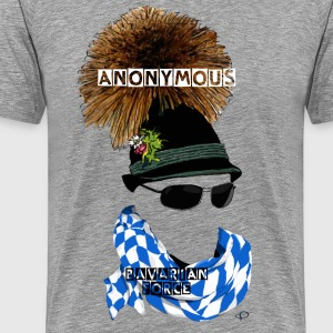Anonymous (Department Bavaria) T-shirts - Herre premium T-shirt