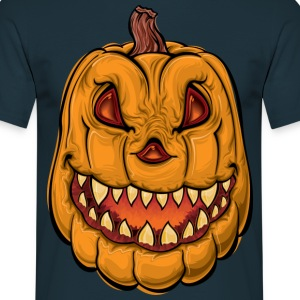 pumpkin head - Men's T-Shirt
