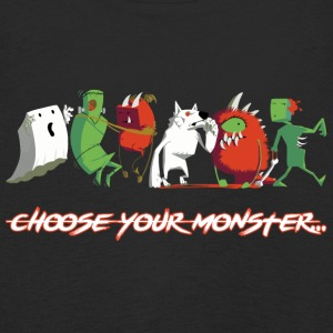 Choose Your Monster  - Kinder Premium Langarmshirt