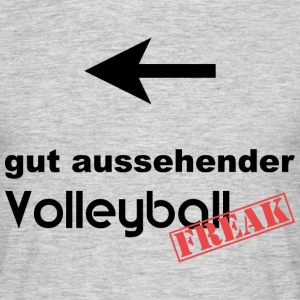 gut aussehender VolleyballFREAK links - Männer T-Shirt