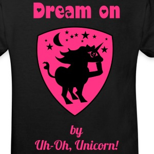 Dream on by Uh-Oh, Unicorn! - Kinder T-Shirt - Kinder Bio-T-Shirt