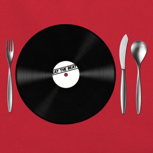 Eat the Beat Vinyl Schalplatte Besteck Messer und Gabel Musik ist Nahrung