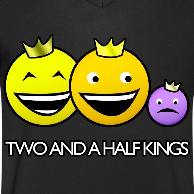 T-shirt V neck Two and a Half Kings