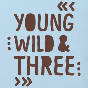 young wild and three T-Shirts - Kinder Bio-T-Shirt