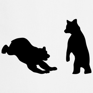 Bears, Bear cubs Kookschorten - Keukenschort