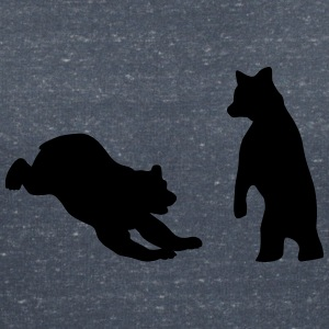 Bears, Bear cubs T-Shirts - Women's V-Neck T-Shirt