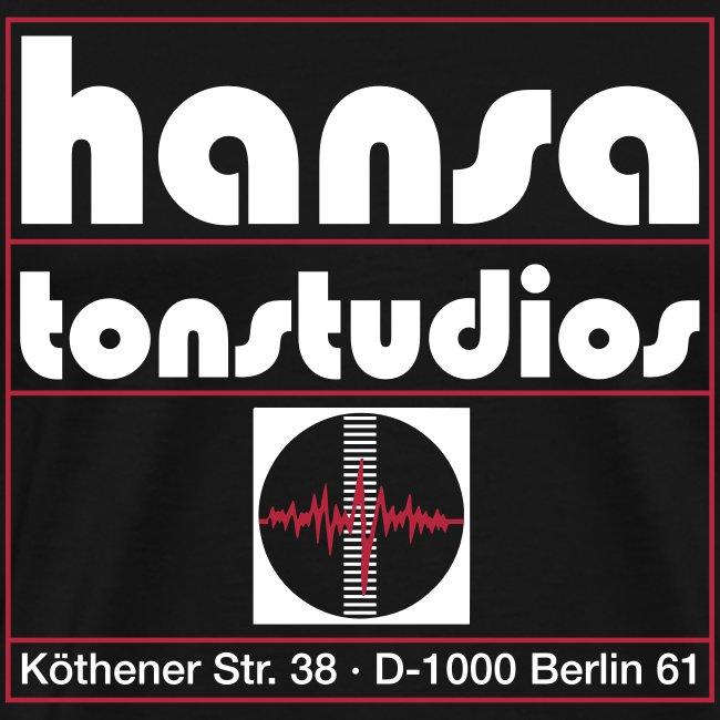 Hansa Studios T-Shirt I Black Vintage