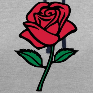 ma rose Sweat-shirts - Sweat-shirt contraste