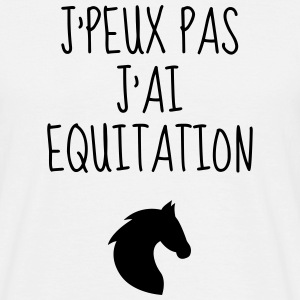 Equitation / Cheval / Cavalier / Equestre Tee shirts - T-shirt Homme